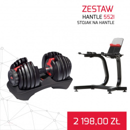 BOWFLEX HANTLE 552I SELECT TECH x2 + Stojak na hantle GRATIS