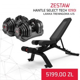 BOWFLEX HANTLE 1090I SELECT TECH x2 + ŁAWKA 4.1S