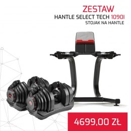 BOWFLEX HANTLE 1090I SELECT TECH x2 + STOJAK NA HANTLE